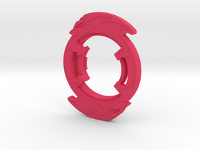 Bey Galux Attack Ring main in Pink Processed Versatile Plastic