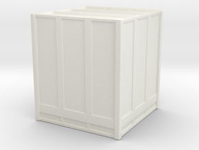 Large Shipping Crate 1/144 in White Natural Versatile Plastic