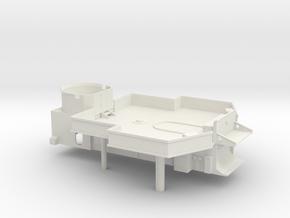 1/100 DKM Narvik-Klasse Z37 Midship Superstructure in White Natural Versatile Plastic