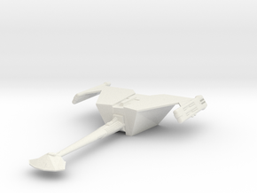 3788 Klingon D-18 class in White Natural Versatile Plastic
