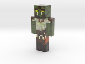 KasRoll | Minecraft toy in Glossy Full Color Sandstone