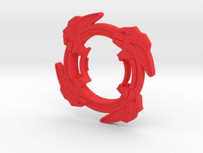 Bey Vortex Ape Attack Ring main in Red Processed Versatile Plastic
