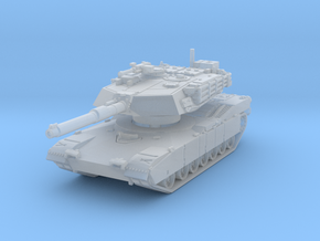 M1A1 AIM Abrams (mid) 1/144 in Smooth Fine Detail Plastic