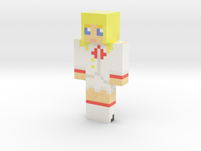 M_V_K_ | Minecraft toy in Glossy Full Color Sandstone