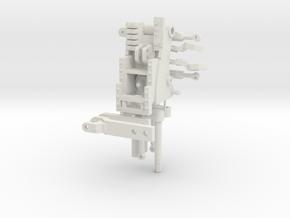 Rear Hydraulic kit for John Deere 8R 1/32 in White Natural Versatile Plastic