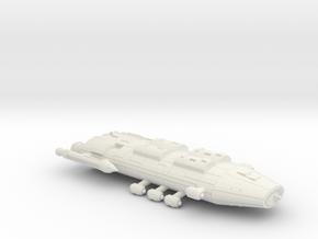 3125 Scale Iridani Man-O-War MGL in White Natural Versatile Plastic