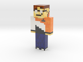 DoTheFlip   Minecraft toy in Glossy Full Color Sandstone