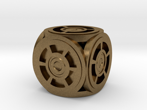 Circle Die in Natural Bronze
