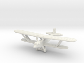 1/285 Polikarpov R-5 in White Natural Versatile Plastic