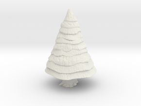 Pine Tree 1/76 in White Natural Versatile Plastic