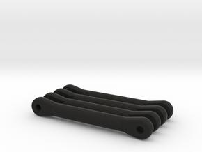 Nikko Dictator, Radio Shack Desert Viper Upper Sus in Black Natural Versatile Plastic