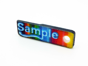 Full-Colour Sample - Material Sample Stand in Full Color Sandstone
