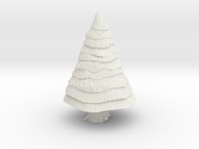 Pine Tree 1/144 in White Natural Versatile Plastic