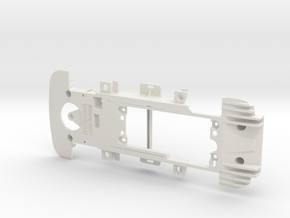 PSCA01502 Chassis Carrera for a BMW M4 DTM Digital in White Natural Versatile Plastic