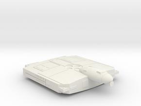 3788 Scale Flivver War Destroyer (DW) MGL in White Natural Versatile Plastic