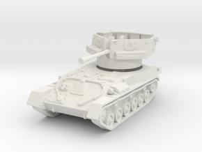 ZSU-37 1/100 in White Natural Versatile Plastic
