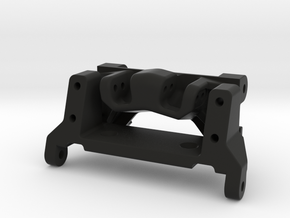 capra goat bundle - servo mount and link riser  in Black Natural Versatile Plastic