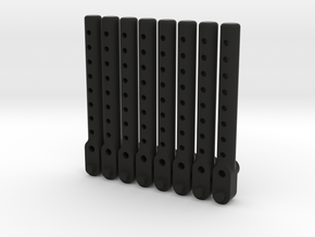 Universal body mount in Black Natural Versatile Plastic