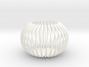 Claw - Tea Light in White Processed Versatile Plastic