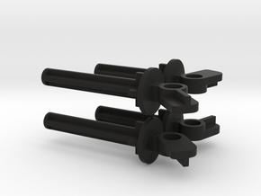 Nikko Dictator Shock (lower Half) in Black Natural Versatile Plastic