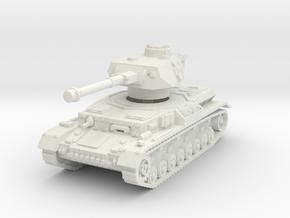 Panzer IV G 1/56 in White Natural Versatile Plastic