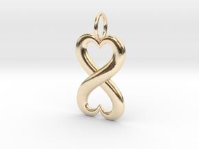 Infinite Love in 14K Yellow Gold