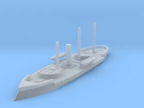 1/1250 Silvado Turreted Monitor in Smooth Fine Detail Plastic