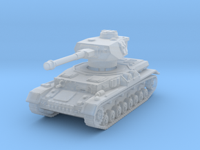 Panzer IV G 1/144 in Smooth Fine Detail Plastic