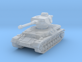 Panzer IV G 1/200 in Smooth Fine Detail Plastic
