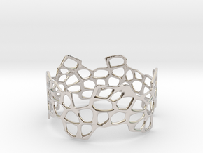 Cells Bracelet (67mm) in Platinum
