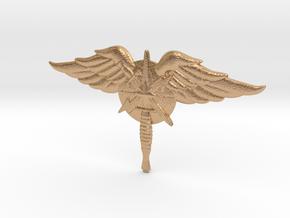 1.75 inch SW Emblem in Natural Bronze