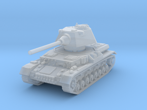 Panzer IV S 1/220 in Smooth Fine Detail Plastic