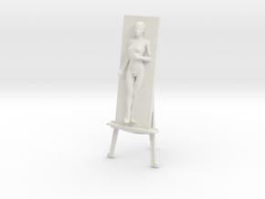 Printle S Femme 1291 - 1/24 - wob in White Natural Versatile Plastic