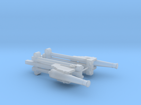 N TWO 24 LB SEIGE GUN CASEMENT in Smooth Fine Detail Plastic
