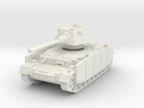 Panzer IV S (Schurzen) 1/100 in White Natural Versatile Plastic