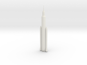 1/1000 Scale SLS Block IA Crew in White Natural Versatile Plastic