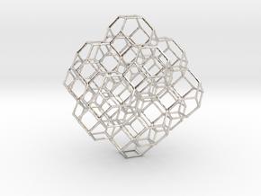Truncated octahedral lattice in Platinum