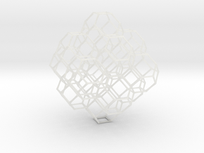Truncated octahedral lattice in Smooth Fine Detail Plastic
