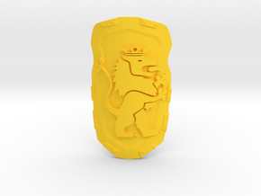 Beast Master's Shield in Yellow Processed Versatile Plastic