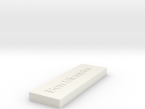 3muiu866akjrrb1jrgkdspf1c3 45096099 Mod.stl in White Natural Versatile Plastic
