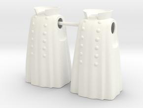 MANTEAU EMPIRE 2 X2  in White Processed Versatile Plastic