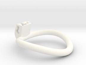 Cherry Keeper Ring - 57mm -6° in White Processed Versatile Plastic