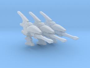 Eldar Navy Hemlock destroyer 3 models/fleet scale in Smooth Fine Detail Plastic