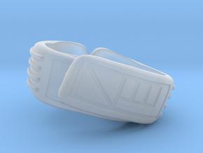 Legbands for Rockwarrior in Smooth Fine Detail Plastic