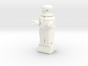 Lost in Space Robot - Moebius - 1/35 scale in White Processed Versatile Plastic