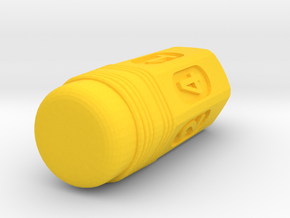 Pencil Die in Yellow Processed Versatile Plastic