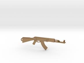 AK Pendant in Natural Brass
