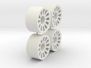 4x21erFelge_3_Hinten_Speichen_1_1_flat in White Natural Versatile Plastic