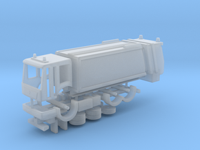 N Gauge Refuse Lorry with Econic Cab in Smooth Fine Detail Plastic