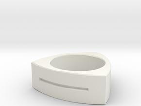 Triton in White Natural Versatile Plastic